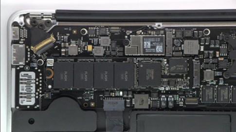 Tin đồn bộ nhớ flash của Macbook Air đạt tốc độ 400MB/giây
