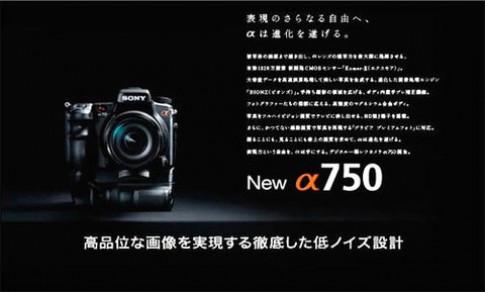 Tin đồn Sony A750