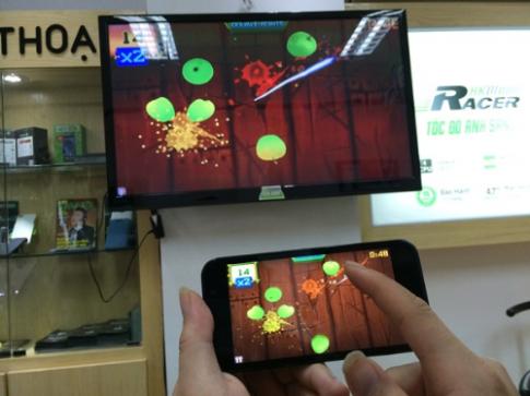 Tính năng OTG và HDMI không dây trên HKPhone RACER