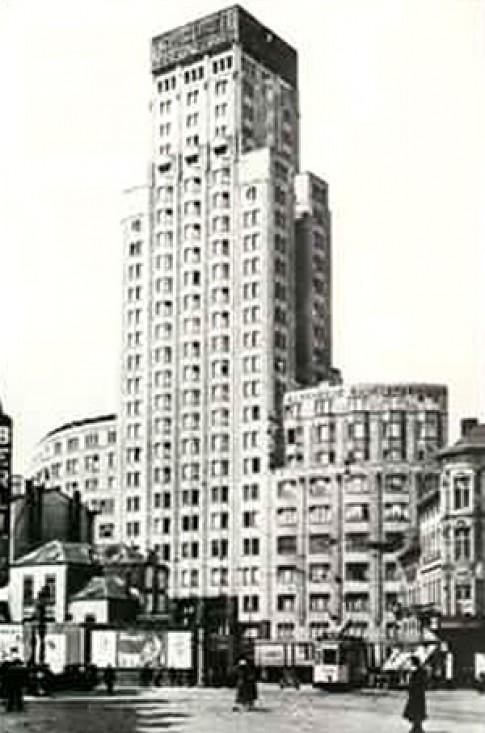 Tòa nhà cao tầng đầu tiên ở châu Âu