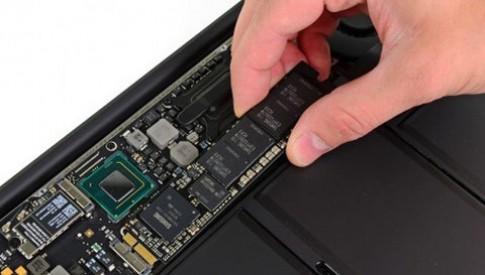 Tốc độ ổ SSD Macbook Air mới 11 inch nhanh hơn 13 inch
