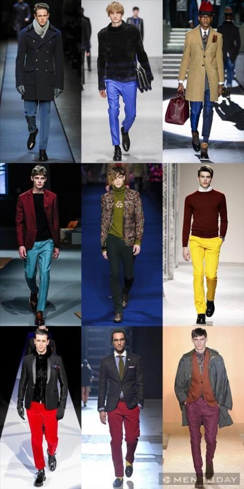 Tổng hợp xu hướng thời trang nam thu đông 2013 (P3)