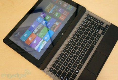 Toshiba giới thiệu ultrabook U923t màn hình trượt