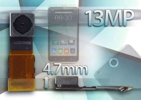 Toshiba ra cảm biến 13 'chấm' cho điện thoại siêu mỏng