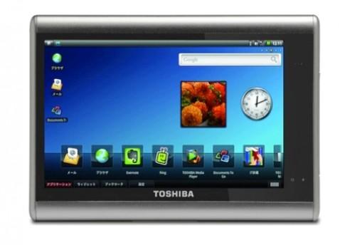 Toshiba ra mắt tablet tháng 9 hoặc tháng 10 năm nay