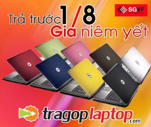 Trả góp laptop từ một phần tám trị giá sản phẩm