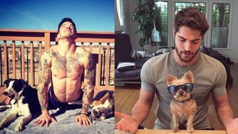 Trai đẹp và Mèo - Sự kết hợp đang làm náo loạn Instagram!