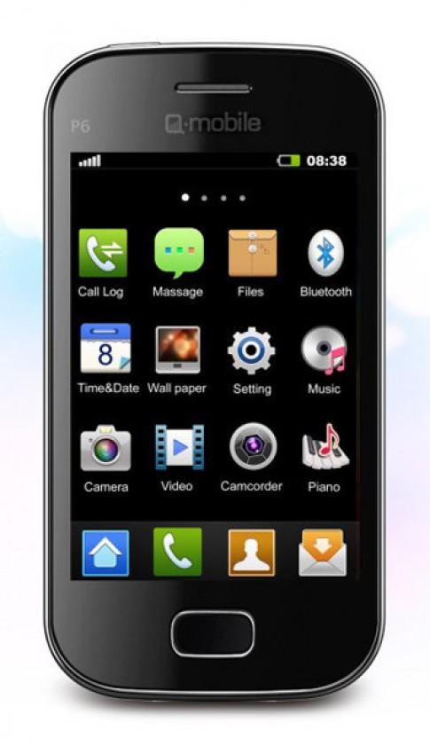 Trải nghiệm cảm ứng thay cho bàn phím cơ trênQ-mobile P6