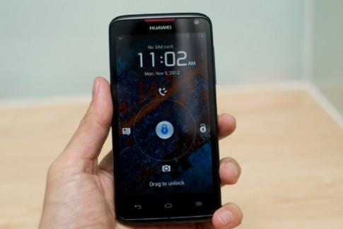 Trai nghiem Huawei Ascend D1 Quad XL
