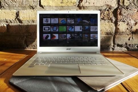 Ultrabook Aspire S7 được nâng cấp màn hình siêu nét