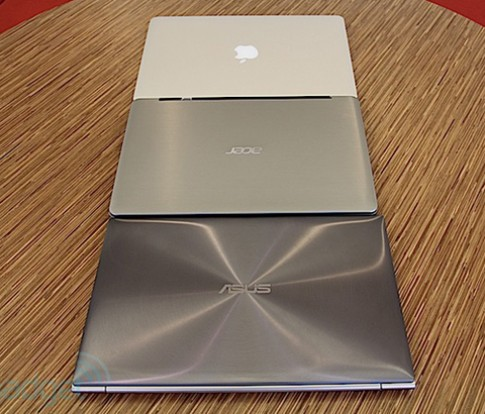 Ultrabook Asus, Acer vs. MacBook Air