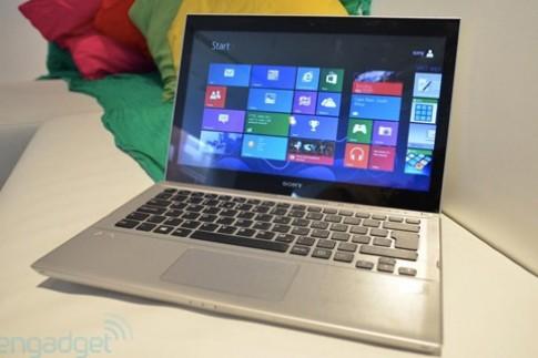 Ultrabook cảm ứng chạy Window 8 của Sony xuất hiện