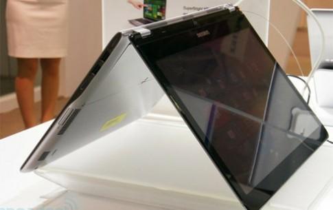 Ultrabook cảm ứng dáng lạ của Samsung