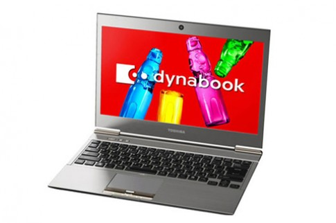 Ultrabook chạy chip Ivy Bridge giá 2.200 USD của Toshiba