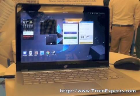 Ultrabook chạy hệ điều hành Tizen do Samsung phát triển
