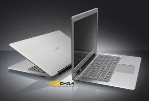 Ultrabook của Acer chính thức ra mắt