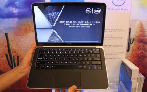 Ultrabook của Dell giá 33 triệu tại VN