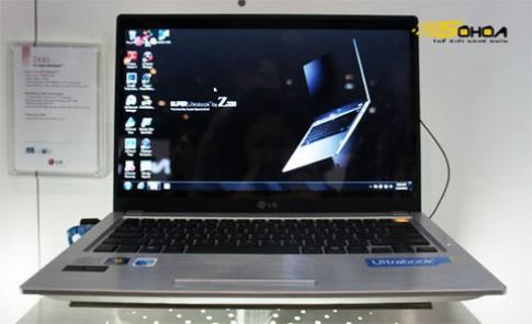 Ultrabook dùng chip Core i7 của LG