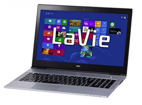 Ultrabook LaVie X mỏng nhất của NEC