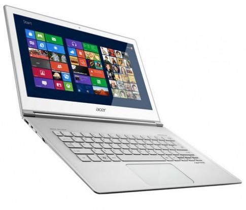 Ultrabook màn hình Full HD cảm ứng của Acer giá từ 1.199 USD