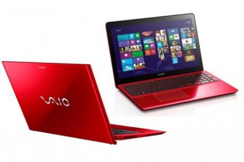 Ultrabook siêu nhẹ của Sony có thêm màu đỏ