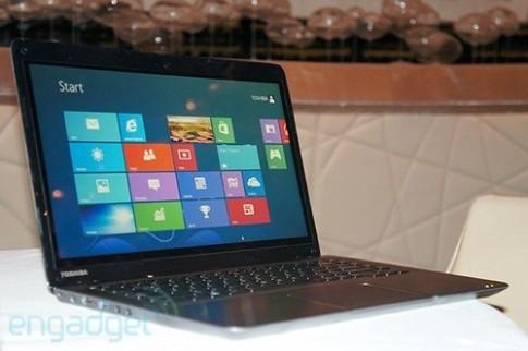 Ultrabook Toshiba màn hình cảm ứng giá hơn 16 triệu đồng