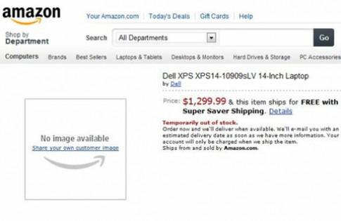 Ultrabook XPS 14 của Dell lộ diện
