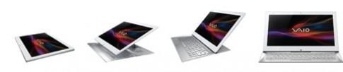 Vaio Duo 13 kết hợp hài hòa giữa laptop và tablet