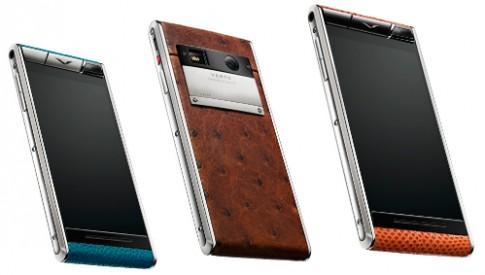 Vertu giới thiệu smartphone Android giá hơn 100 triệu đồng