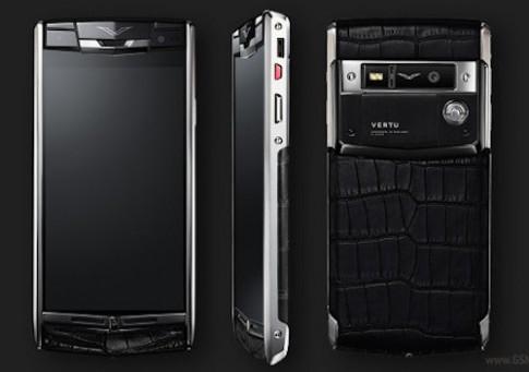 Vertu ra mắt smartphone Android giá hơn 200 triệu đồng