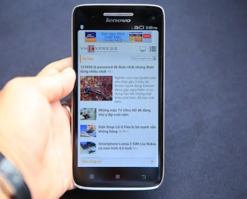 Vibe X - smartphone siêu mỏng giá 9,6 triệu đồng của Lenovo