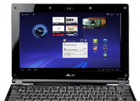 Video Asus Eee PC chạy Android 3.2 Honeycomb