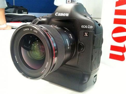 Video Canon EOS-1D X chụp 14 hình mỗi giây