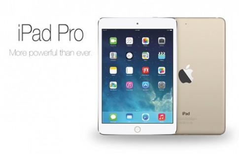 Video mô phỏng thiết kế iPad Pro màn hình 12,9 inch