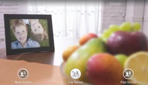 Video mô tả tính năng chụp ảnh xóa phông trên Galaxy S5