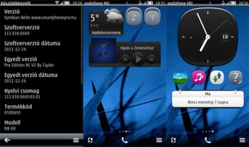 Video Nokia N8 chạy Symbian Belle đầy đủ tính năng