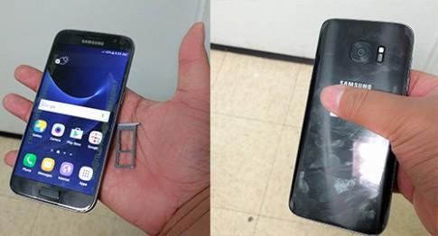 Video thực tế đầu tiên về Galaxy S7