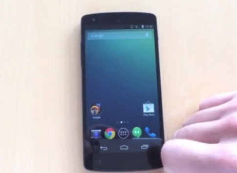 Video thực tế đầu tiên về Google Nexus 5
