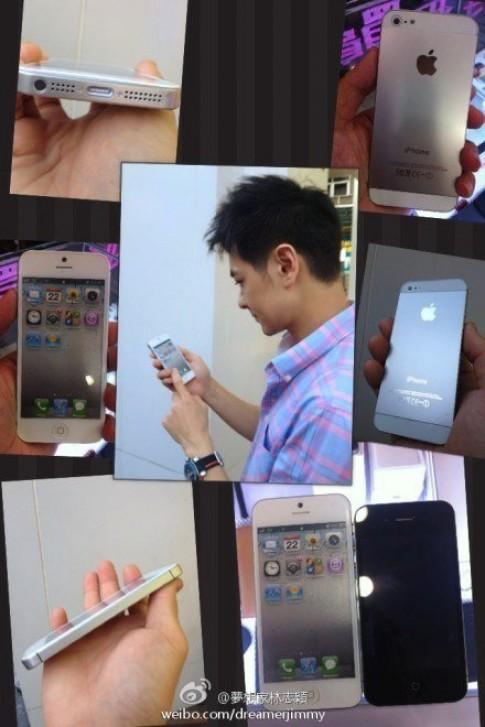 Video thực tế điện thoại được cho là iPhone 5