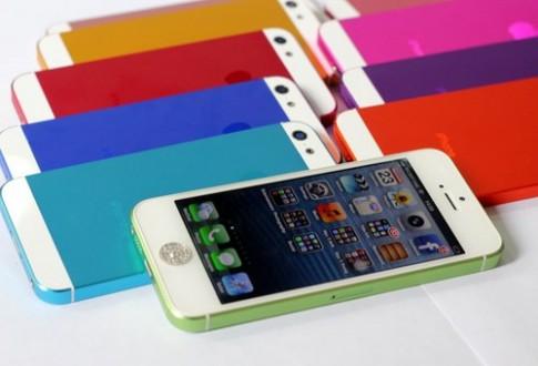 Vỏ iPhone 5 'tắc kè hoa' xuất hiện ở Hà Nội