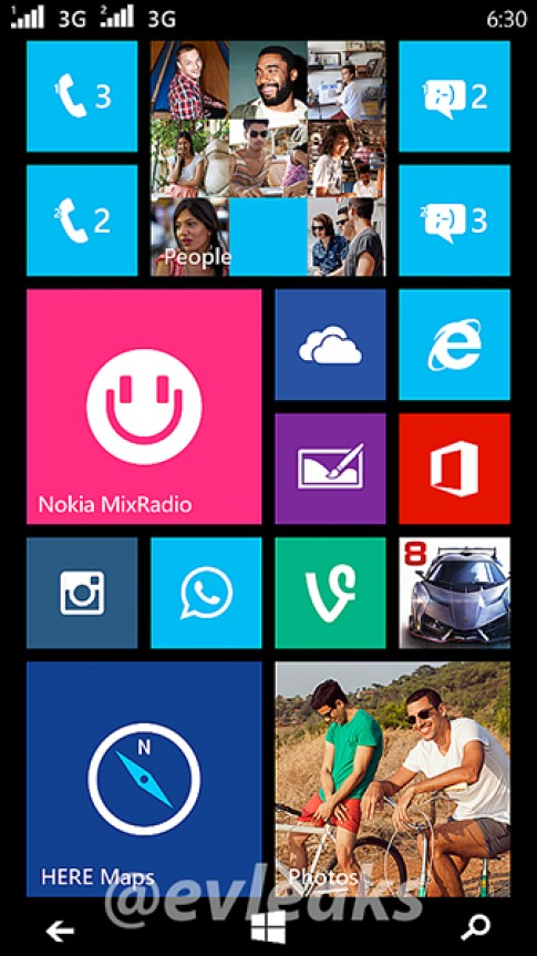 Windows Phone 2 SIM của Nokia hỗ trợ 3G kép