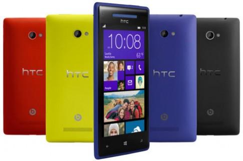 Windows Phone 8 của HTC về VN tháng 11, giá dưới 10 triệu đồng