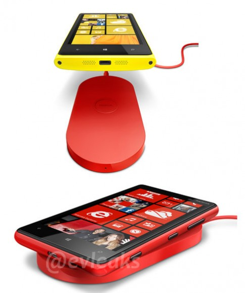 Windows Phone 8 của Nokia có sạc không dây, camera PureView