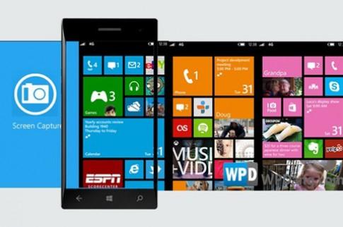 Windows Phone 8 hỗ trợ chụp màn hình