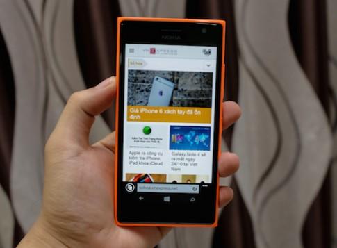 Windows Phone chuyên chụp tự sướng của Nokia bắt đầu bán