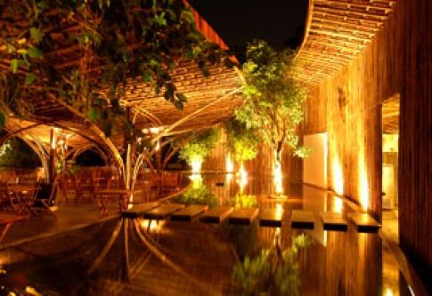 wNw Café đạt giải nhì thi kiến trúc tre