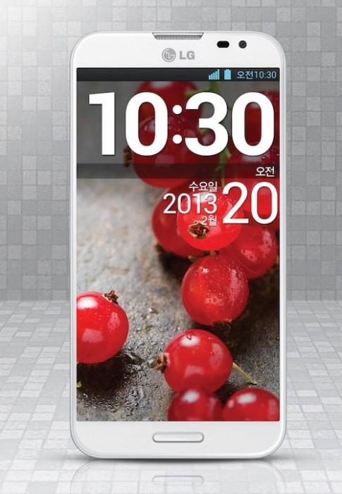 Xem ảnh chính thức LG Optimus G Pro