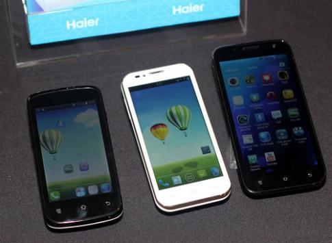 Xem ảnh thực tế loạt smartphone Haier mới ra mắt ở Việt Nam