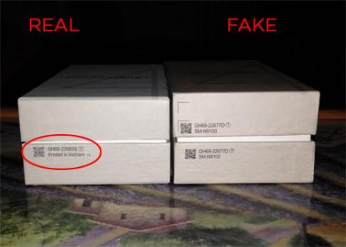 """Xem video thiết bị """"nhái"""" hệt Galaxy Note 4"""