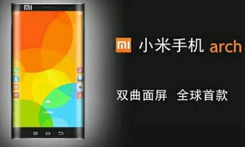 Xiaomi đang phát triển smartphone màn hình cong 2 cạnh